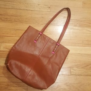 Vera Bradley Gallatin Canyon Leather Tall Tote
